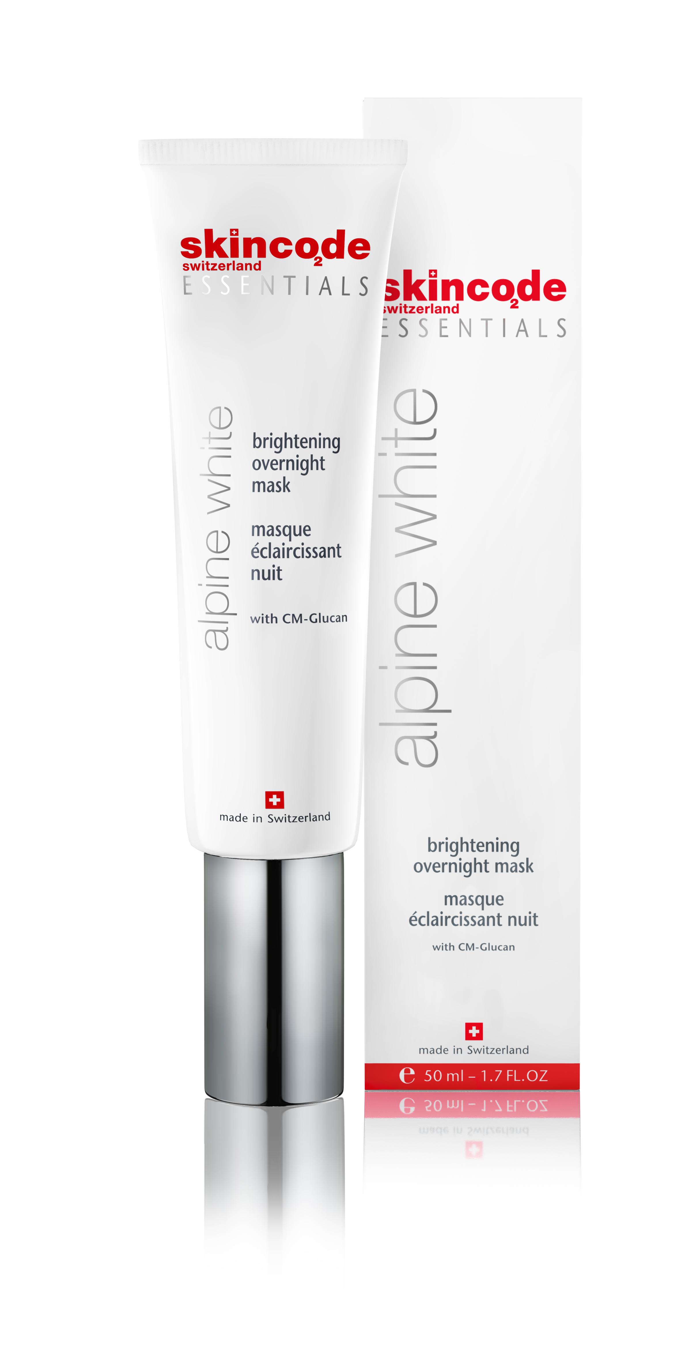 Skincode Essentials Alpine White Brightening Overnight Mask 50ml 6 Pack Cetaphil Men Daily Face Lotion SPF 15 - 4 fl oz Each