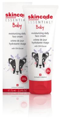 Baby moisturizing daily face cream
