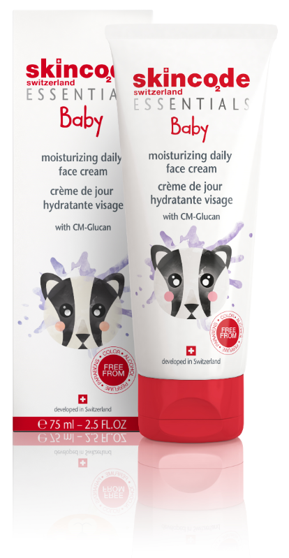 Baby moisturizing daily face cream